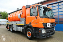 Mercedes Actros Actros 2544 MP3 6x2 Kroll 14m³ Saug u. Druck ADR used sewer cleaner truck