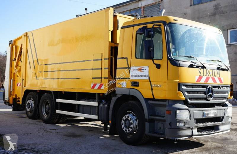 View images Mercedes Actros 2532 road network trucks