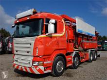 Scania L R620 8x4 Hemers 13500 Recycer camión limpia fosas usado