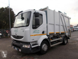 Renault Midlum COMPATTATORE SCARICO POSTERIORE used waste collection truck
