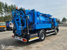 Sewer cleaner truck MERCEDES-BENZ KROLL- HELMERS FOR CLEANING DUCTS
