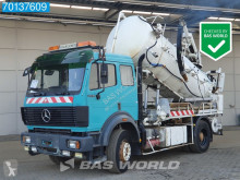 Mercedes sewer cleaner truck 2038 VacuümPompe V8 3-Pedals Big-Axle