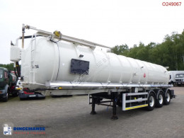 Náves Semi Vacuum tank alu 32 m3 / 1 comp + pump