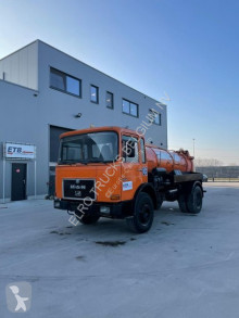 MAN 16.192 (BIG AXLE / STEEL SUSPENSION / MANUAL PUMP / 7500 L) camion hydrocureur occasion