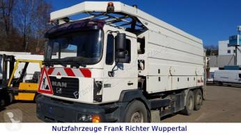 MAN 26.403 Saug u Spülwagen HU neu Pumpe überholt camion autospurgo usato