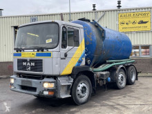 Maquinaria vial camión limpia fosas MAN 25.272 Vacuum Toilet Truck 12.000L Good Condition