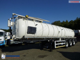 Vacuum tank alu 32 m3 / 1 comp used sewer cleaner truck