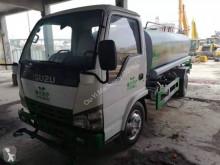 Maquinaria vial camión limpia fosas Isuzu
