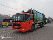 Lastbil med ske til husholdningsaffald Mercedes Econic 2633 LI, EURO V, garbage truck, mullwagen
