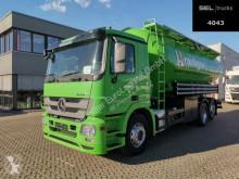 Maquinaria vial camión limpia fosas Mercedes Actros 2544 L 6x2 / 31m3 / 4 Kammern /SILO