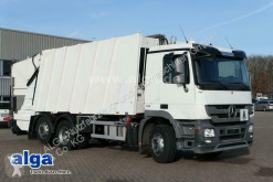 Maquinaria vial Mercedes 2536 L Actros 6x2, Faun, Variopress 524, Zöller camión volquete para residuos domésticos usado