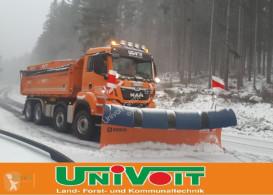 Radlice MAN 35.500 Hydrodrive 4-Achser Winterdienst Schneepflug - Streuer