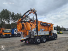 MAN sewer cleaner truck WUKO