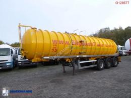 Crossland Vacuum tank alu 33 m3 / 1 comp camion hydrocureur occasion