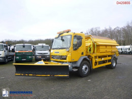 DAF snow plough-salt spreader LF55