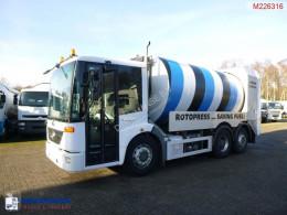 Maquinaria vial Mercedes Econic camión volquete para residuos domésticos usado
