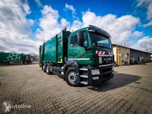 Maquinaria vial MAN TGS 26.320 EURO V garbage truck mullwagen camión volquete para residuos domésticos usado