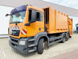 MAN TGS 26.320 6x2-4 BL 26.320 6x2-4 BL, Lenkachse, Haller X2, Zöller-Schüttung used waste collection truck