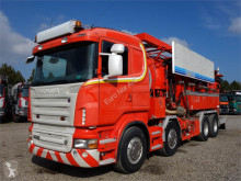 Scania L R620 8x4 Hemers 13500 Recycer camion hydrocureur occasion