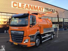 Maquinaria vial camión limpia fosas DAF CF 340