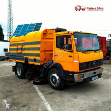 Mercedes 1314 used road sweeper