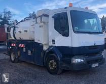 Maquinaria vial Renault Midlum 220 DCI camión limpia fosas usado