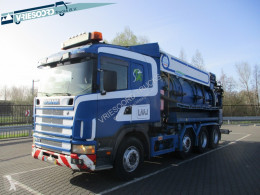 Scania R 124 used sewer cleaner truck