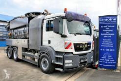 Maquinaria vial camión limpia fosas MAN TGS 26.440 6x2 FFG 12,5m³ Wasserrückgewinner WRG