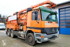 Maquinaria vial camión limpia fosas Mercedes Actros 2640 6x4 Müller 12m³ WRG Kombi-Spüler