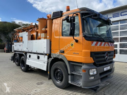 Mercedes Actros 2541 6x2 Saug Druckwagen KROLL 8500 L TOP used sewer cleaner truck