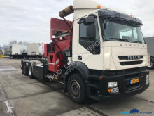 Iveco AD260S27Y/PS CNG Translift Side loader used waste collection truck