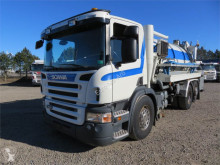 Maquinaria vial camión limpia fosas Scania P340 6x2*4 Hvidtved Larsen SLP11