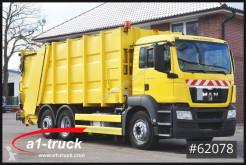 MAN TGS 26.320, Lenkachse, Zoeller Medium XL camion raccolta rifiuti usato