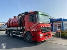 Mercedes Actros 2536 Saug und Spühlwagen Lift- Lenkachse camion hydrocureur occasion