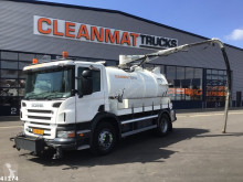 Scania P 280 used sewer cleaner truck