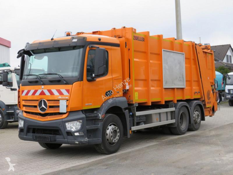 Vedere le foto Veicolo per la pulizia delle strade Mercedes Antos 2536 L 6x2 Müllwagen Zoeller + Schüttung