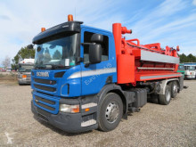 Maquinaria vial camión limpia fosas Scania P360 6X2*4 FLEXLINE 310 ADR HVIDTVED LARSEN