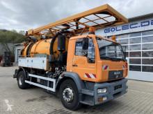 Maquinaria vial camión limpia fosas MAN 18.280 4x2 Kanalreiniger 9.000 L SPÜLMASTER