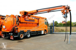 MAN TGS 28.460 6x2 Müller 12m³ Frontliner WRG-Kombi used sewer cleaner truck
