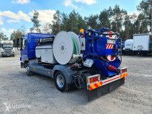 Sewer cleaner truck MERCEDES-BENZ J. HVIDTVED LARSEN CITYFLEX 204 COMBI WUKO FOR CLEANING DUCTS