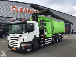 Camion benne à ordures ménagères Scania P 320
