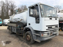 Iveco 150E23 used sewer cleaner truck