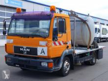آلة لصيانة الطرق شاحنة مكنسة MAN LE 8.163*AHK*Fäkalien*Abwasser* Saugwagen*