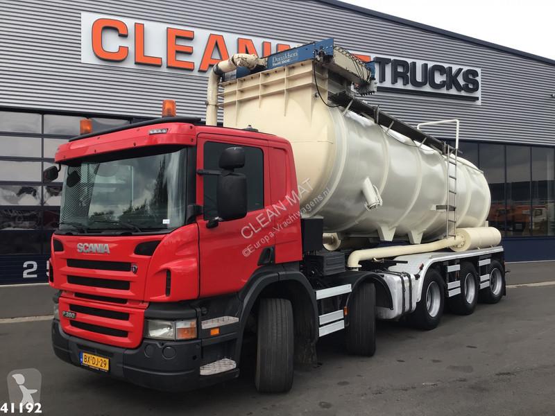 Bilder ansehen Scania P 380 Strassenreiniger
