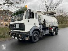 Camion hydrocureur Mercedes SK 1844 L 6x2 Tollense 10000 ltr Saugwagen Kanal