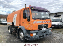 MAN road sweeper 15.163