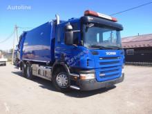 Camion benne à ordures ménagères Scania P280 EURO V, Garbage Truck, Mullwagen