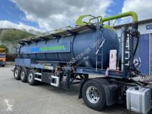 STOKOTA Vakuum Auflieger 28.400 L Kanalreiniger camion-cisternă second-hand