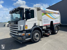 آلة لصيانة الطرق Scania P 260 شاحنة مكنسة مستعمل