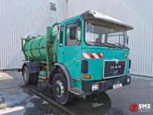 Maquinaria vial MAN 15.168 camión limpia fosas usado
